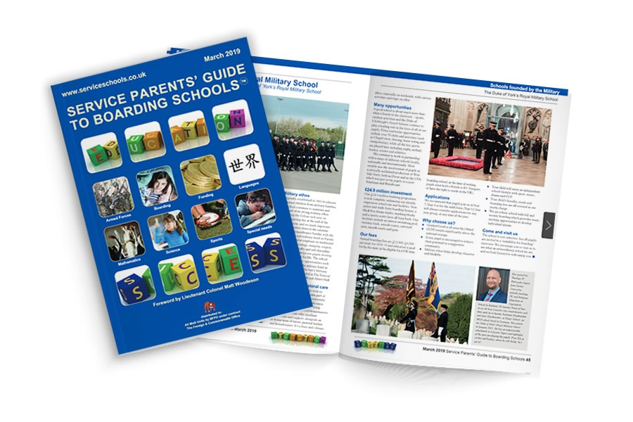Service Parents' Guide to Boarding School Magazine