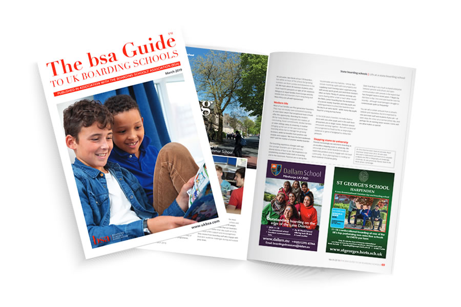 UK Guide to Boarding School - Magazine Design and Print