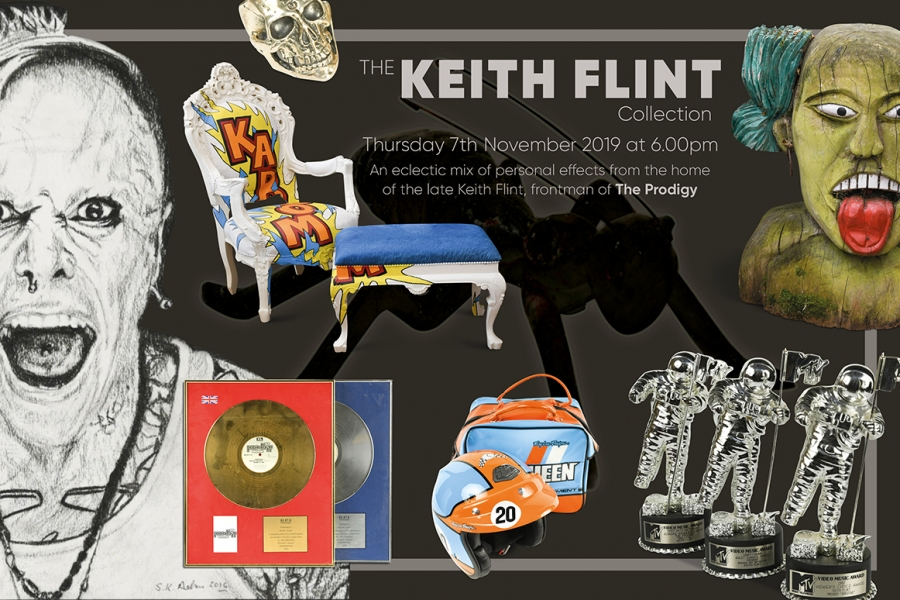 Keith Flint Poster