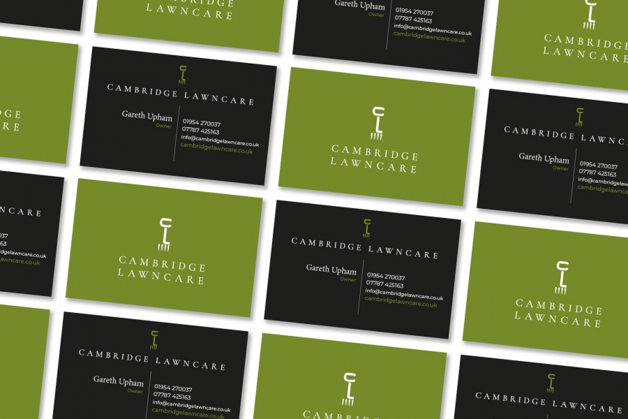 Cambridge Lawncare Business Cards