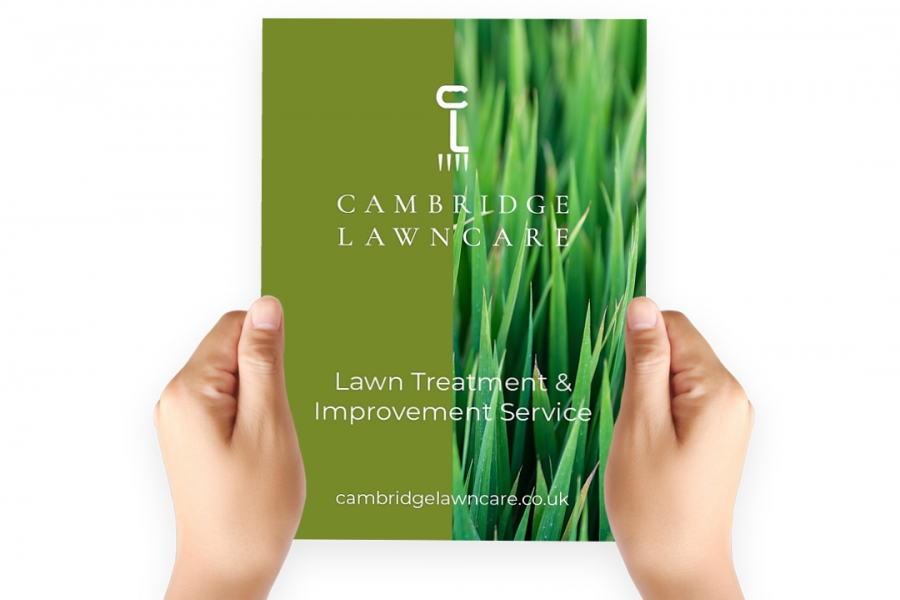 Cambridge Lawncare Flyer